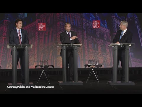 Federal leaders debate in 3 minutes