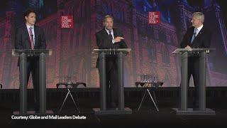 Federal leaders debate in 3 minutes