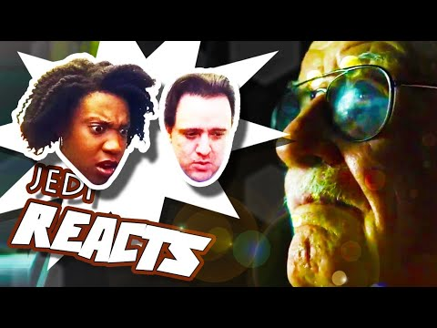 JEDI REACTS SDCC EDITION! The Defenders Stan Lee Teaser 👓