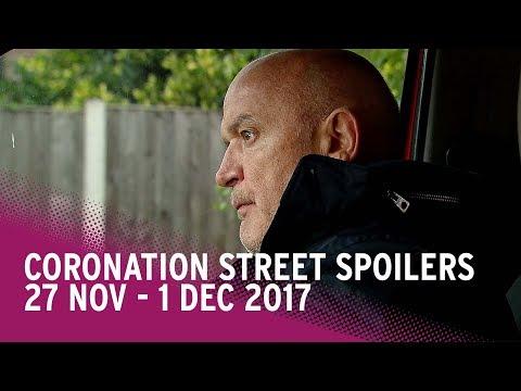 Coronation Street spoilers: 27 November-1 December 2017 - Corrie