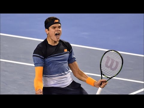 Australian Open | Milos Raonic Beats Gael Monfils To Reach Semi-Finals