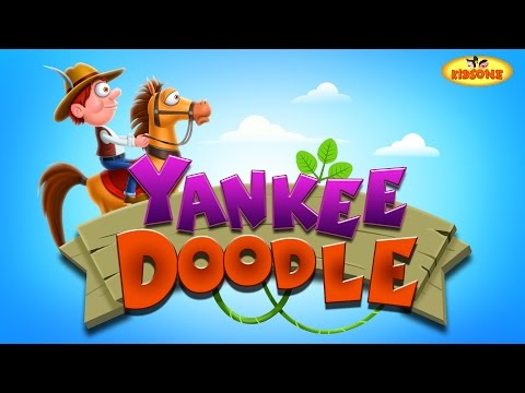 Yankee Doodle Went to Town | Children Nursery Rhyme Song