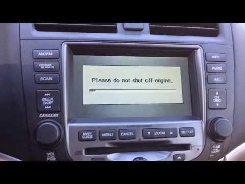 Honda Accord Navigation Map Update