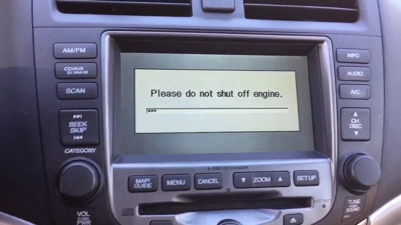 Elegant Honda Accord Navigation Map Update