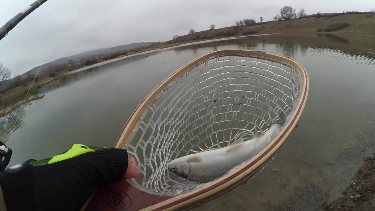 თევზაობა კალმახზე სპინინგით / Trout fishing / рыбалка на форель
