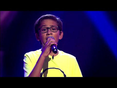 Oscar – 'Firestone' | Blind Audition | The Voice Kids | VTM