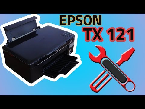 How to disassemble Printer Epson tx121 and sx125