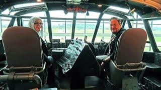 Spruce Goose Cockpit Tour   Evergreen Aviation & Space Museum