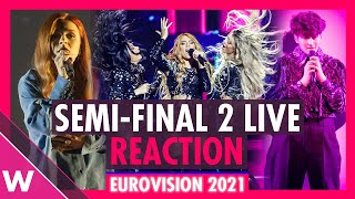 Eurovision 2021: Live reaction to Semi-Final 2 Qualifiers | wiwibloggs