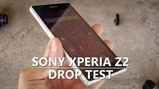 Sony Xperia Z2 Drop Test!
