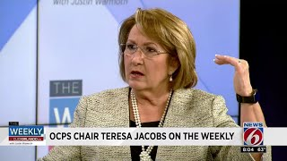Teresa Jacobs talks school security, curriculum changes on 'The Weekly'