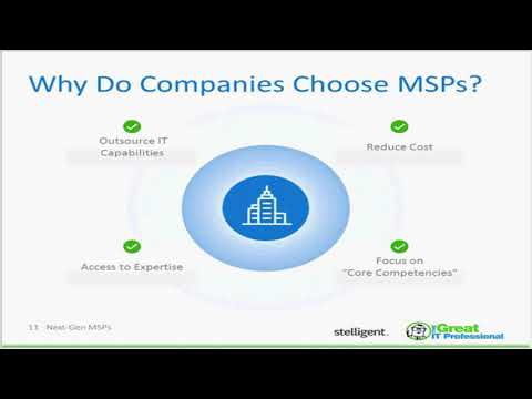 Next Generation Managed Services Providers MSP on the Cloud are Self Service