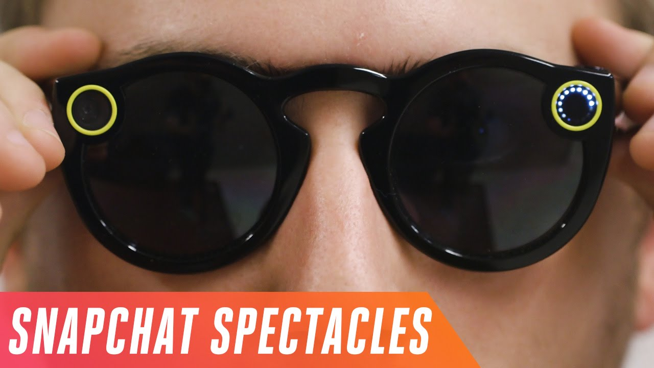 db333ecac0f Snapchat Spectacles first look - YouTube