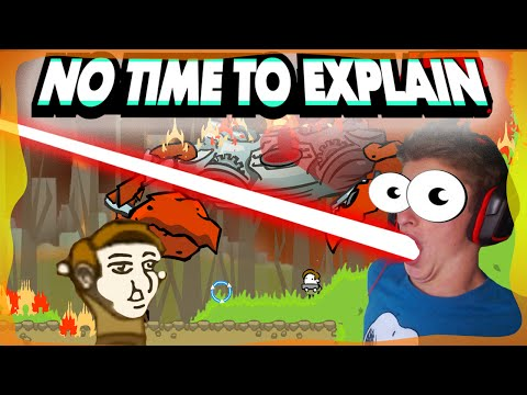 I CAN SHOOT LAZERBEAMS! - No time to explain remastered- EP 1 |