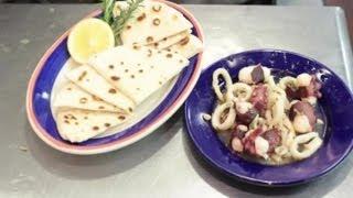 Greek Octopus & Squid Salad : Greek Recipes