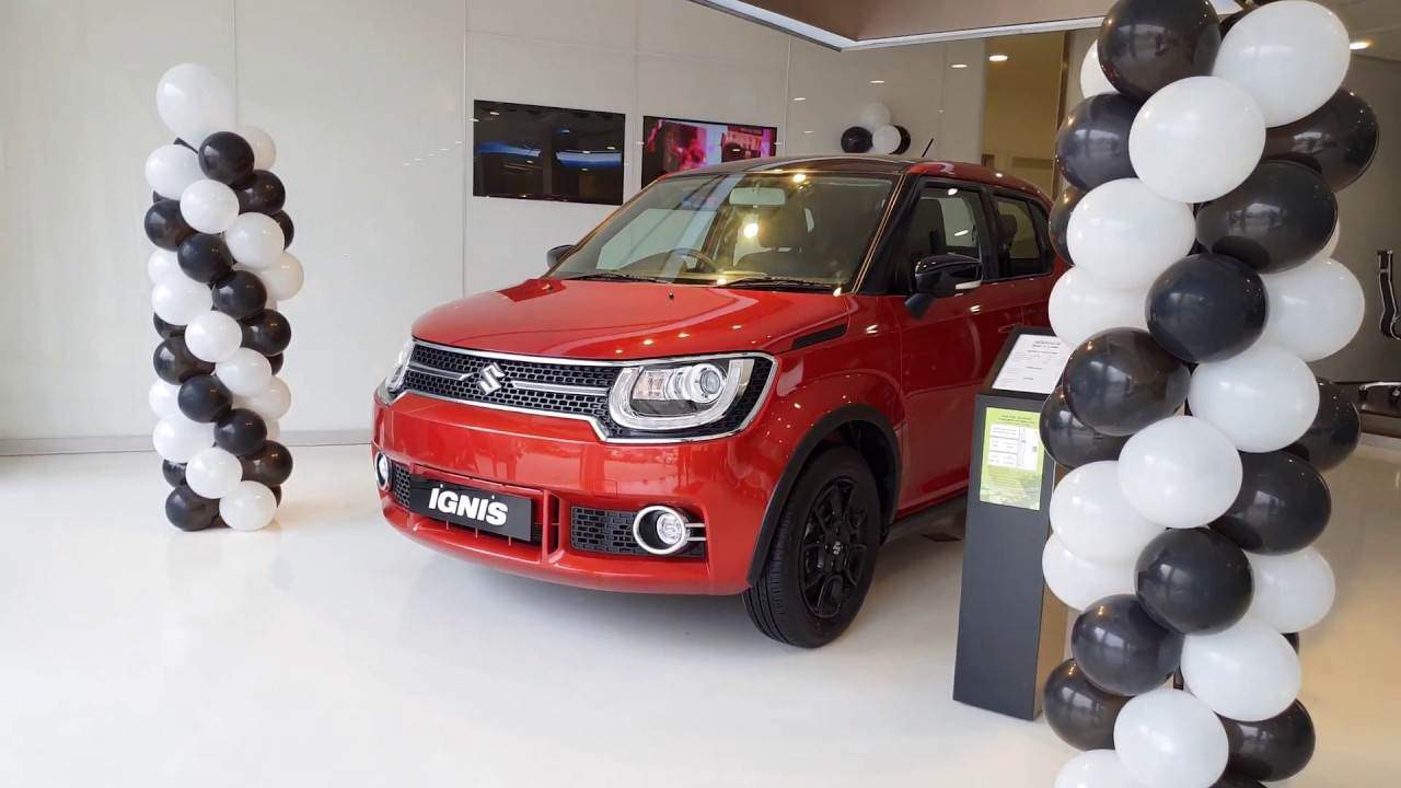 Maruti Suzuki Ignis Dual Tone Top Model In 4k 60fps Red And