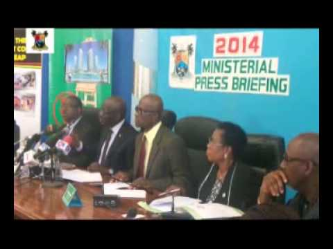Office Of Special Adviser On Taxation & Revenue,2014 Ministerial Press Briefing