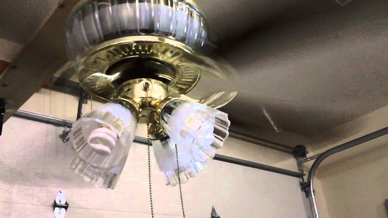 52 Hampton Bay Jericho Ceiling Fan  YouTube