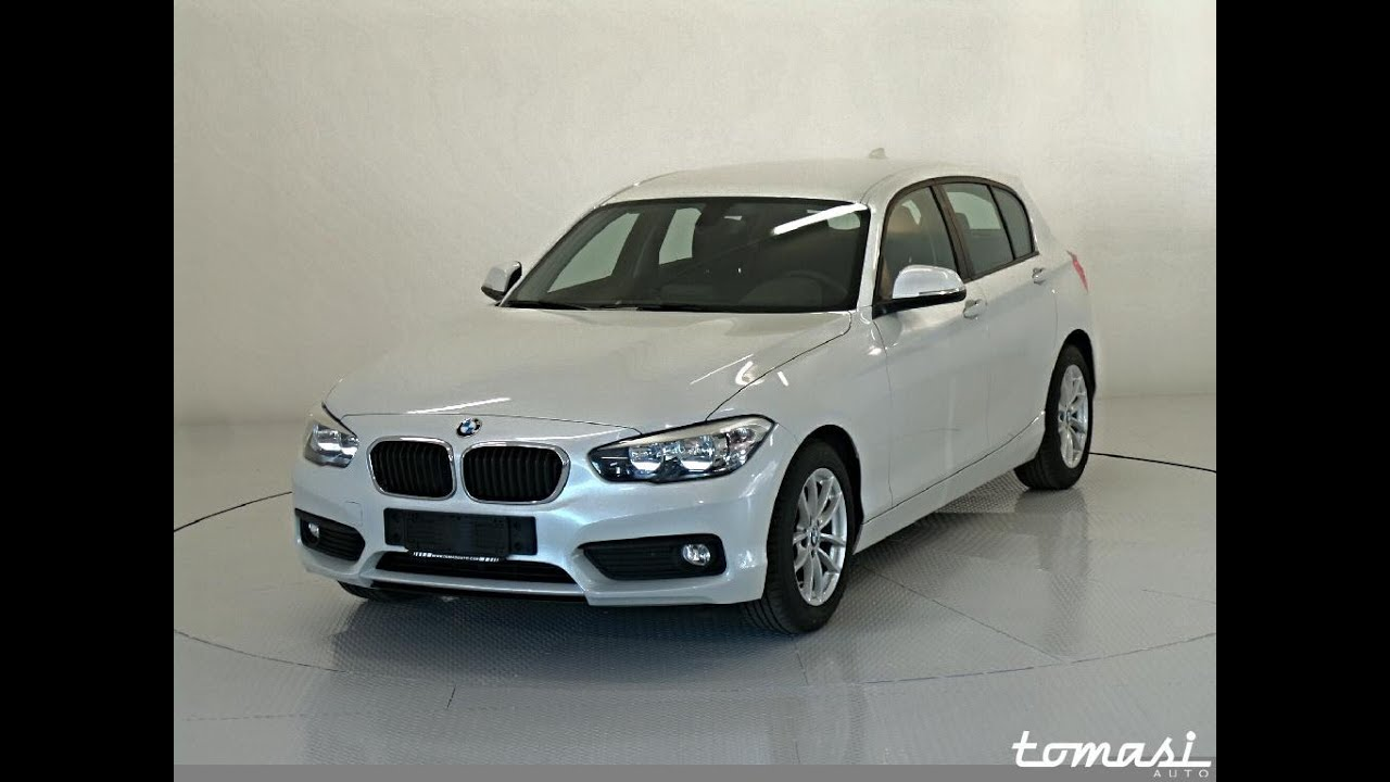 Bmw 116d 5p Efficient Dynamics Mineral White Youtube