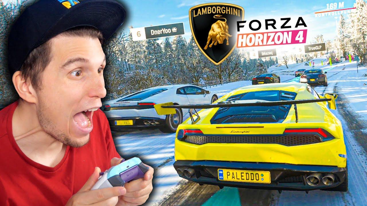 Mein erstes Rennen im Lamborghini Huracan | Forza Horizon 4