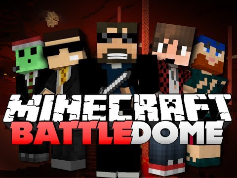 Minecraft EPIC Battle Dome  - BEST KILL EVER (w/ Mitch, Lancey, and Friends)