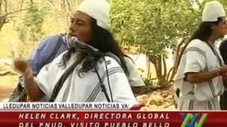 Helen Clark, directora global del PNUD, visitó Pueblo Bello, Cesar