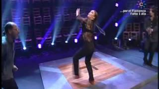 IMPRESIONANTE baile Rocio Molina canal sur(el sol,la sal,el son)