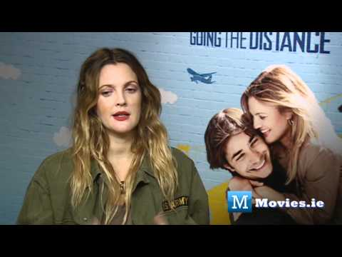 DREW BARRYMORE - Fun Interview for Going The Distance