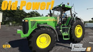 Old school power!| John Deere 8100/8010- By | Farming Simulator 19 - Mod review