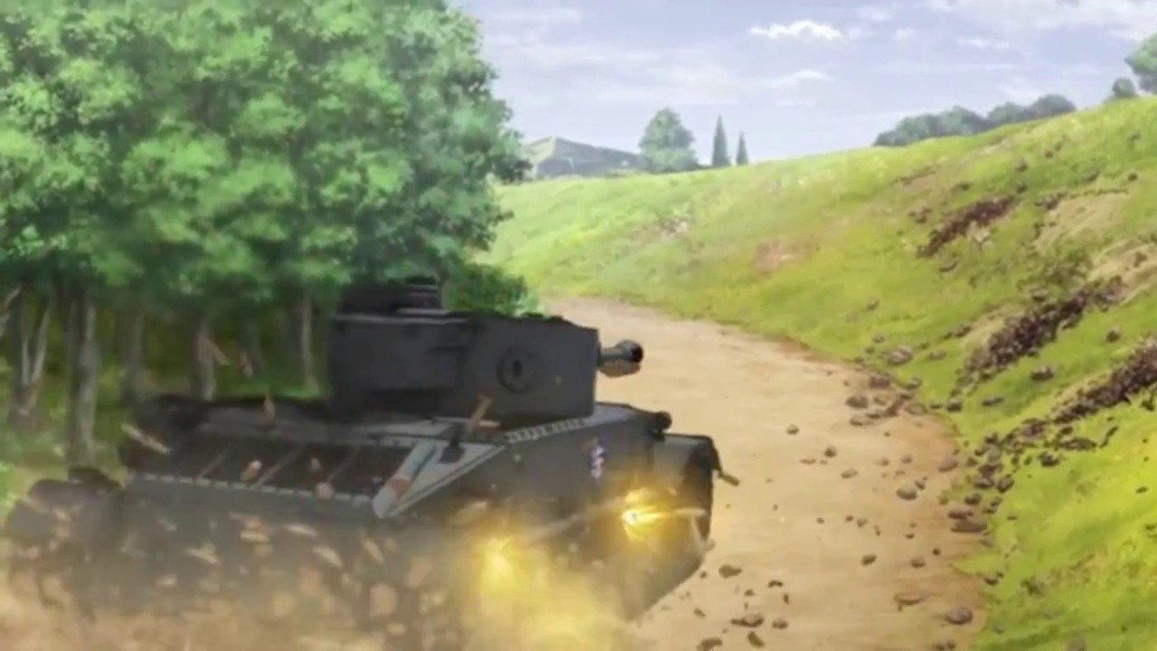 TIGER(P) FULL THROTTLE!!! (Girls und Panzer Das Final) - YouTube