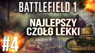 Najlepszy czołg lekki - Battlefield 1 multiplayer pl - BF1 gameplay #4