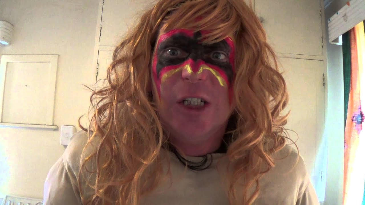 frew the lens - the ultimate warrior impersonation - youtube