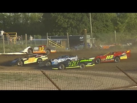 Crate Late Model Heat Two | Genesee Speedway | 9-3-16