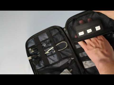 Review: BAGSMART Travel Universal Cable Organizer Electronics Accessories Cases