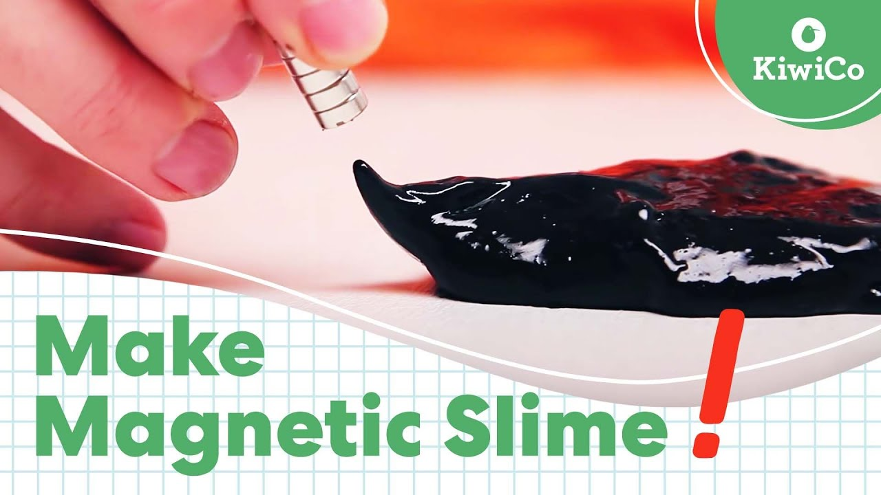 Diy Magnetic Slime Youtube