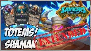 Totems! Shaman | Extended Gameplay | Hearthstone | Saviors of Uldum