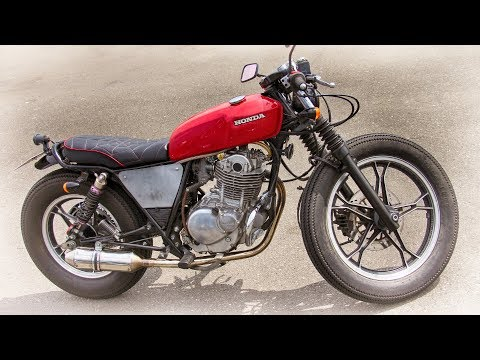 Honda Gb250 Bobber Style Custom Bike Youtube