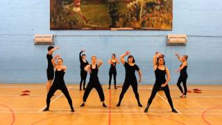 TJX's Got Talent - Amour Rouge' Dance Medley inc. Gangnam Style and the Harlem Shake