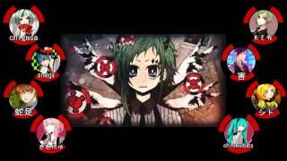 vuclip 【合唱】 ポーカーフェイス / Poker Face 【Nico + Tube 8 + 1人】