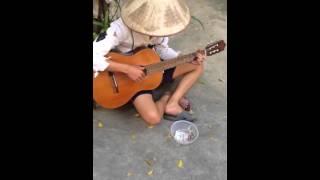 Xẩm Sinh Viên guitar chế