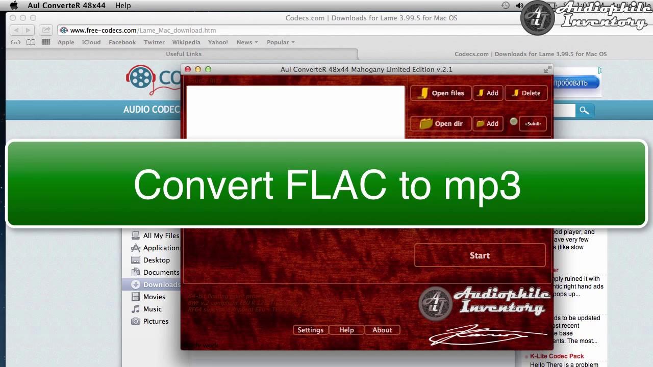 Link Mp3 Encoder to AuI ConverteR via Command Line
