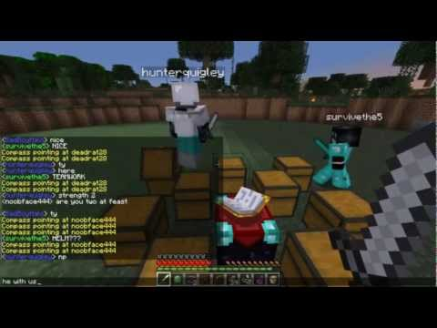 MCPVP.com | Review #12 Burrower Kit | Minecraft Hunger Games