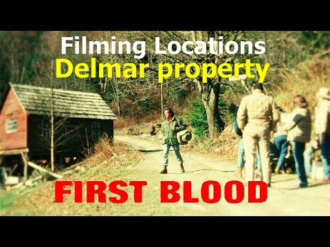FIRST BLOOD ( filming location) Can you tell me if Delmar Be