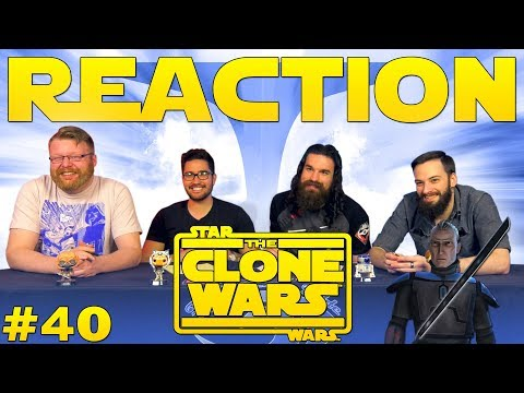 "Star Wars: The Clone Wars #40 REACTION!! ""The Mandalore Plot"""