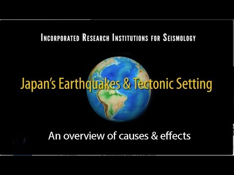Japan— Overview of Earthquakes & Tectonics