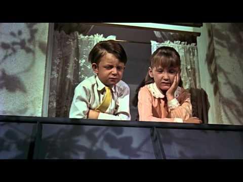 Mary Poppins Flying Nanny Scene