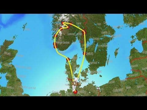 Norwegen - Eine Rundreise mit Auto und Caravan