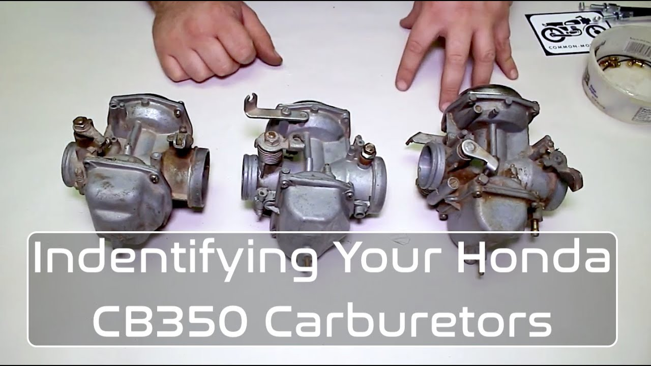 Honda CB350 Carburetor IDENTIFICATION Guide - YouTube | With 350 Engine Carb Diagram |  | YouTube