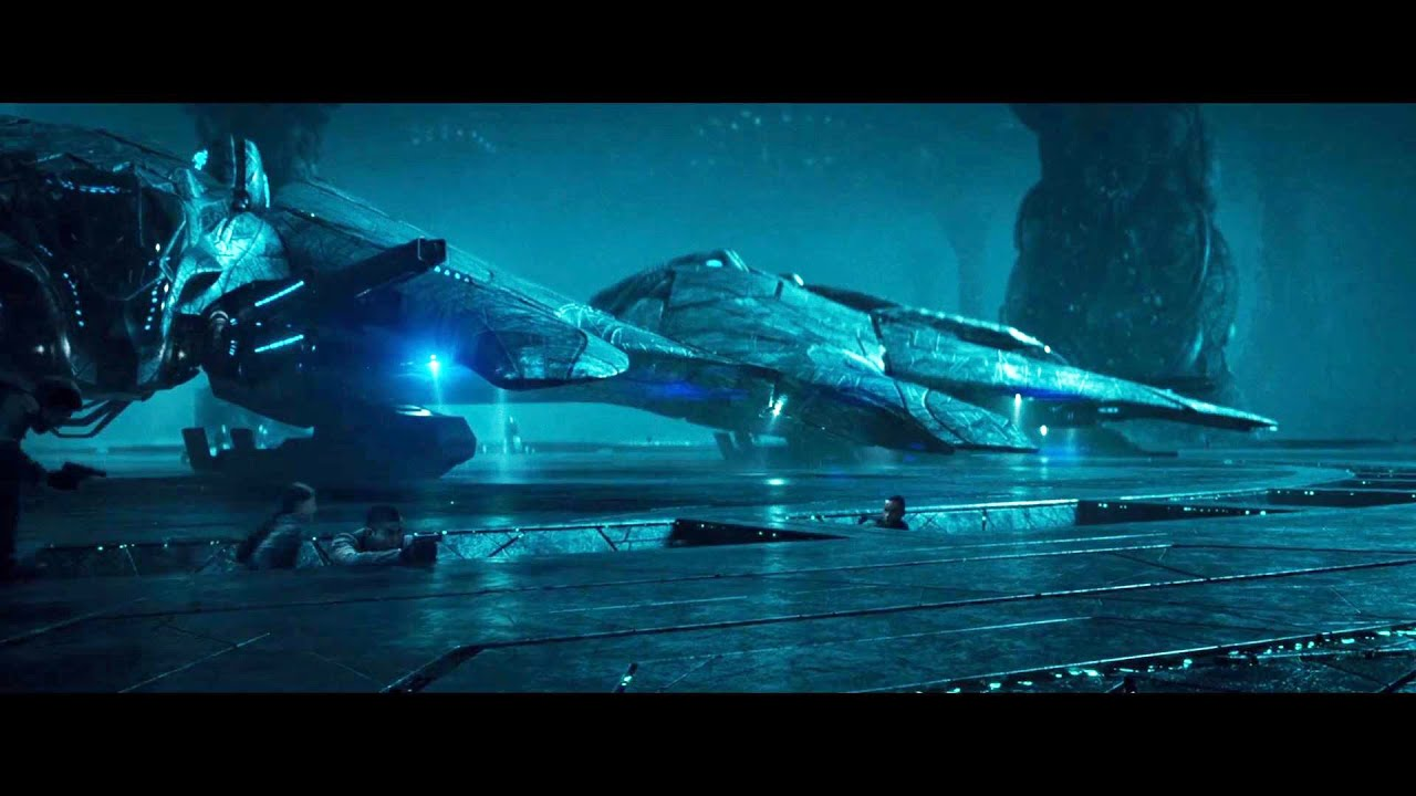 Download Stealing Scene of Alien Fighting Ship (Independence Day: Resurgence)