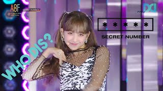 Secret Number (시크릿넘버) Who Dis? @2020 Asia Song Festival
